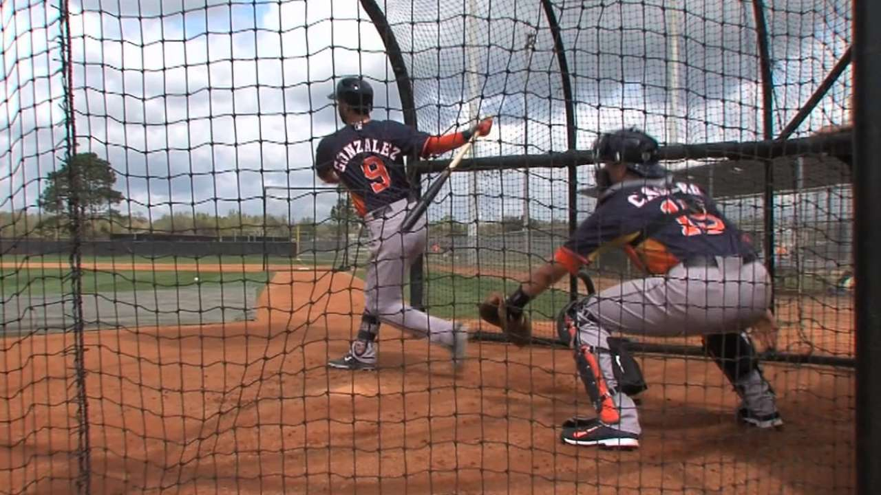 Gonzalez's hard work earns him spot with Astros