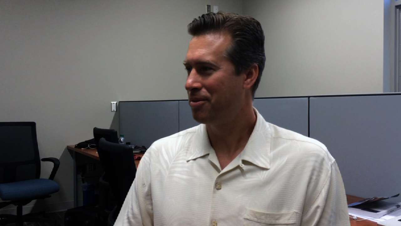 Broadcaster Scanlan discusses Padres' 2014 outlook