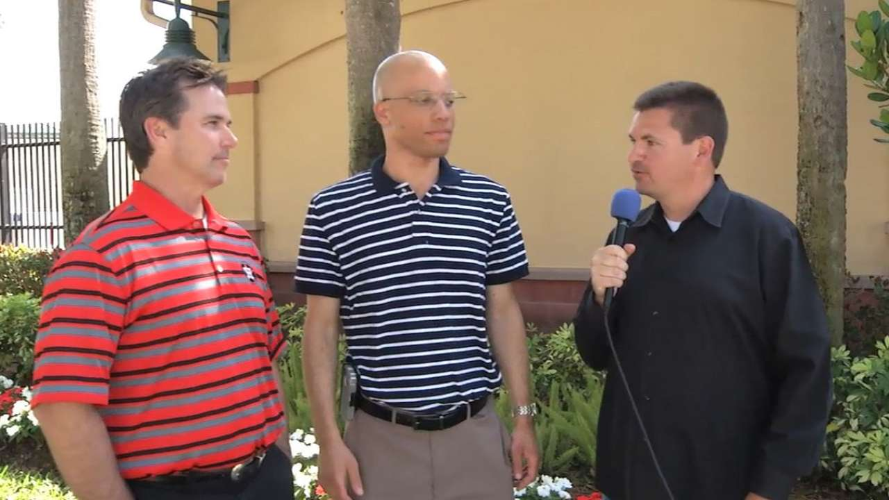 Radio team Ford, Sparks talk Astros in 2014