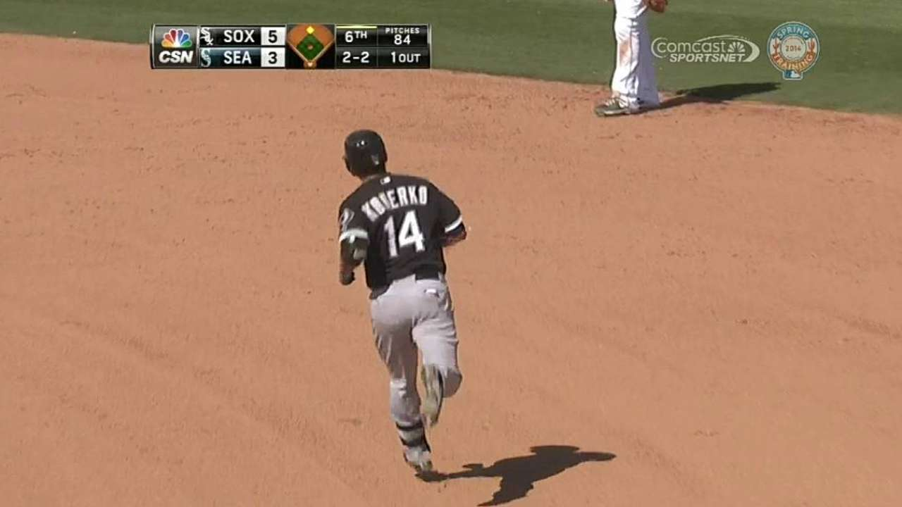 Home runs by Semien, Konerko power White Sox
