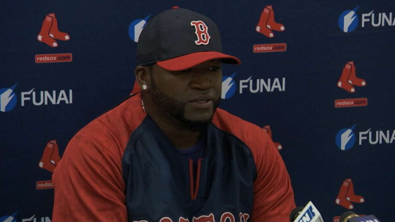 Papi: 'This is the place I want to be'