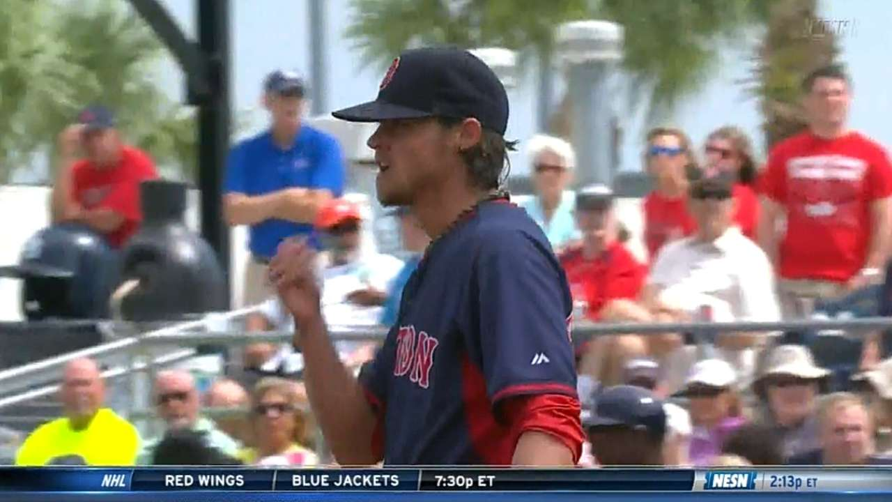 Buchholz's final spring outing also his strongest