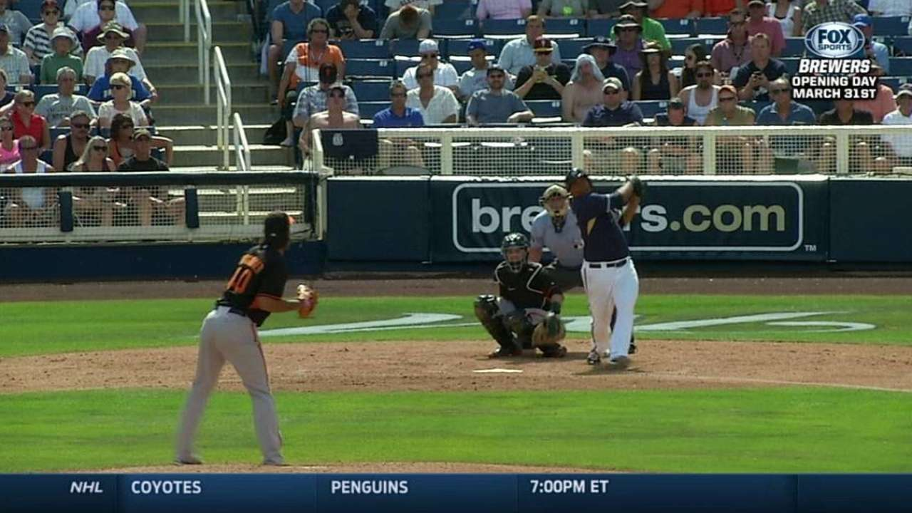 Peralta contributes homer to strong pitching