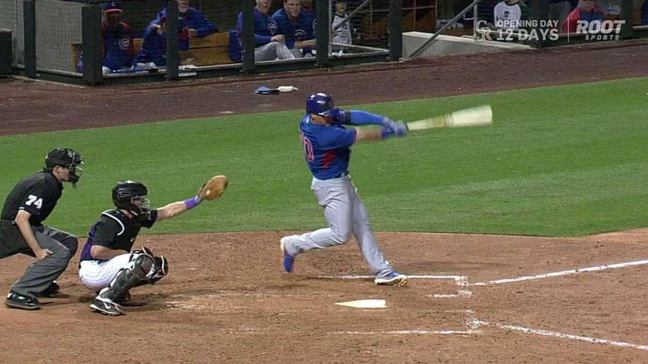 Villanueva strikes out eight while Baez homers