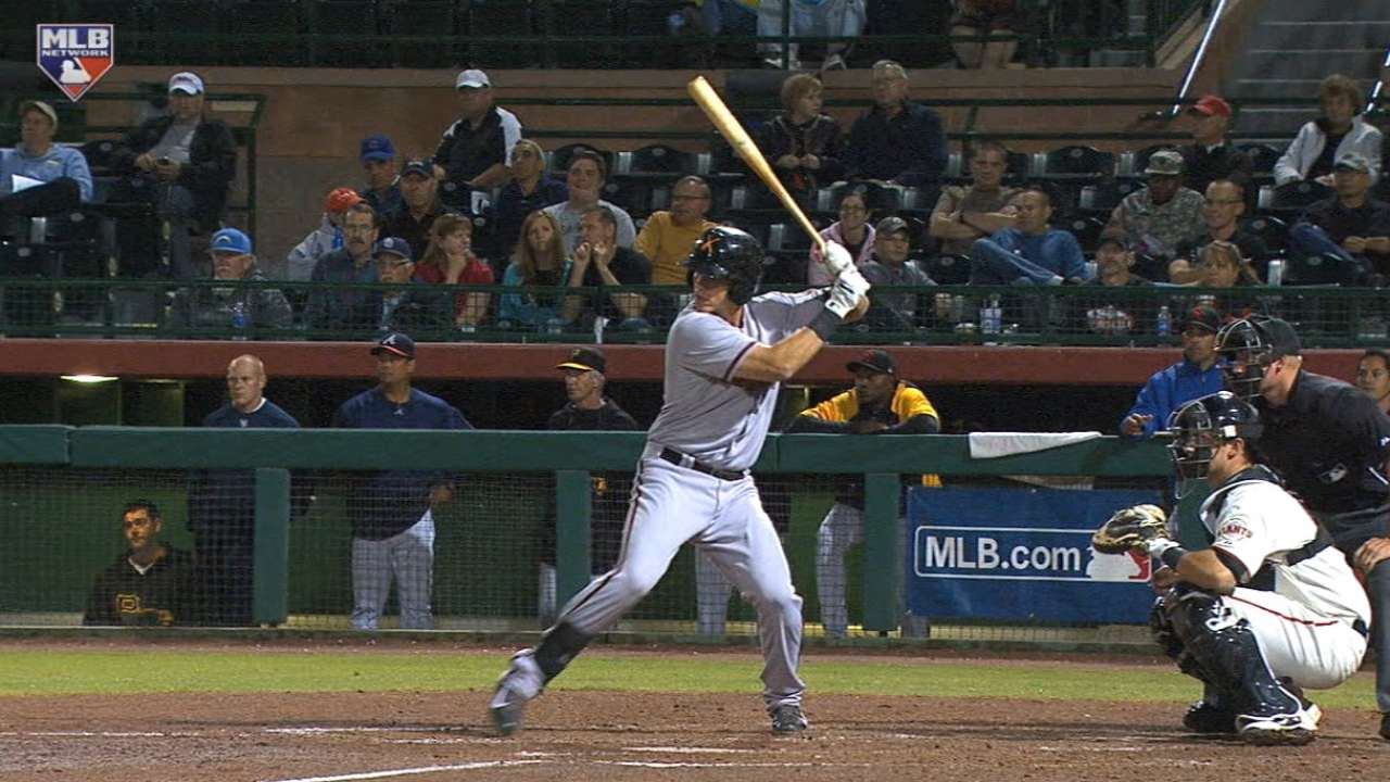 Prospect Lamb's walk-off homer a promising sign