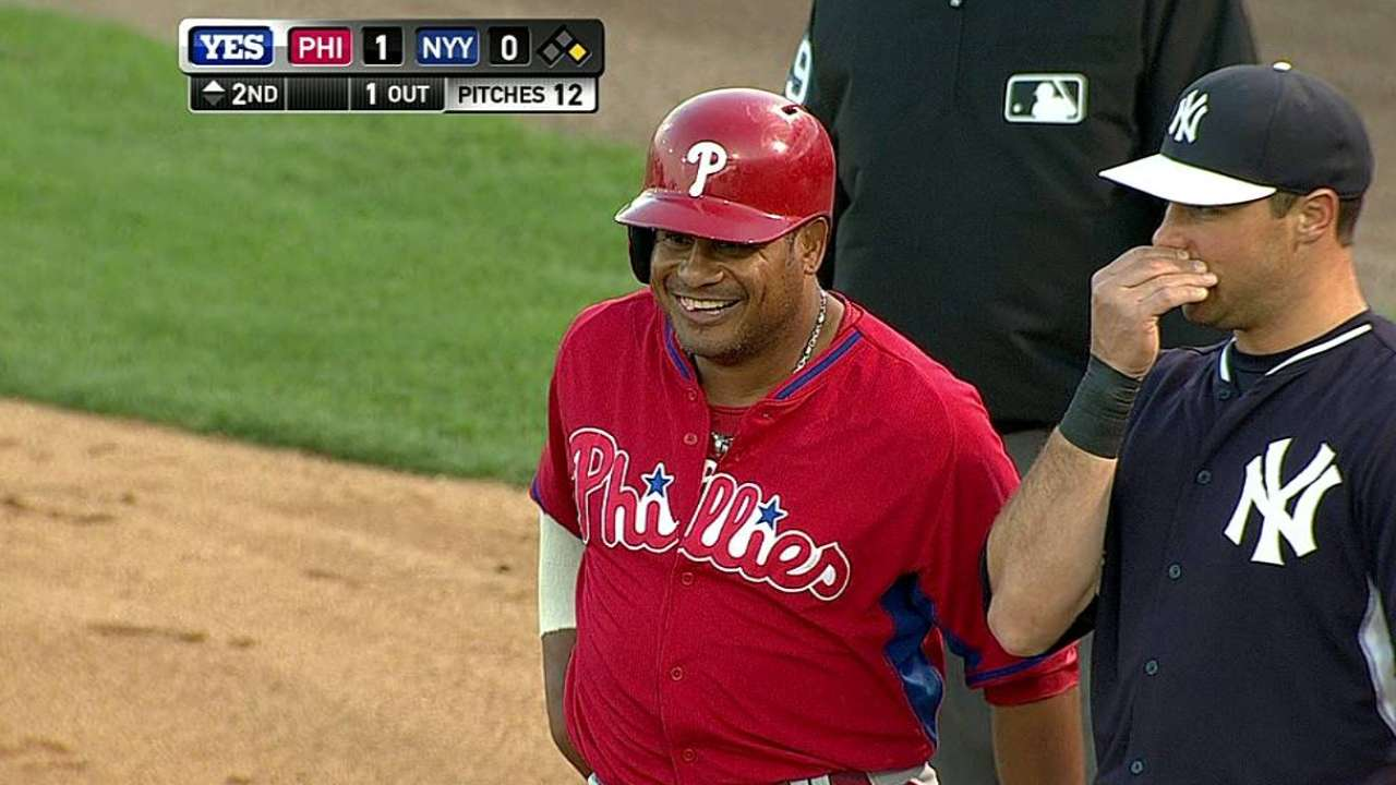 Abreu will not make Phillies' Opening Day roster