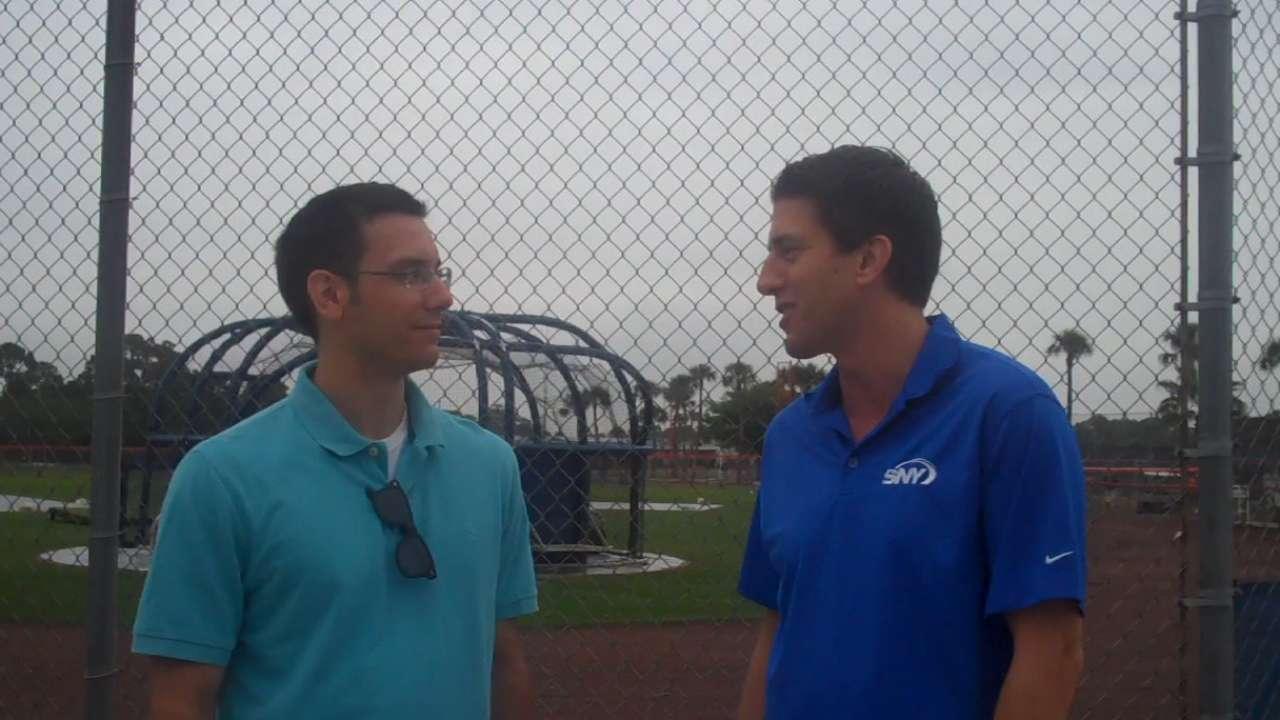 Burkhardt breaks down his job, Mets' chances