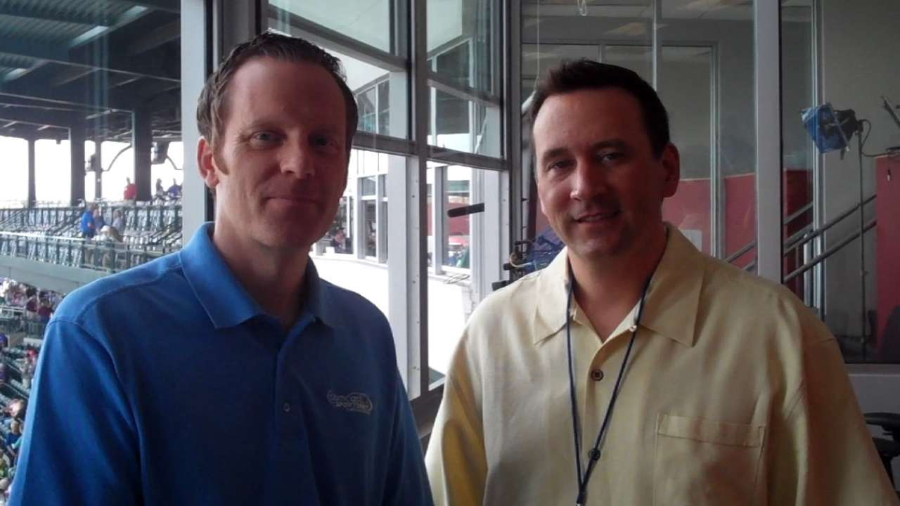 MLB.com sits down with Kasper, Gillispie