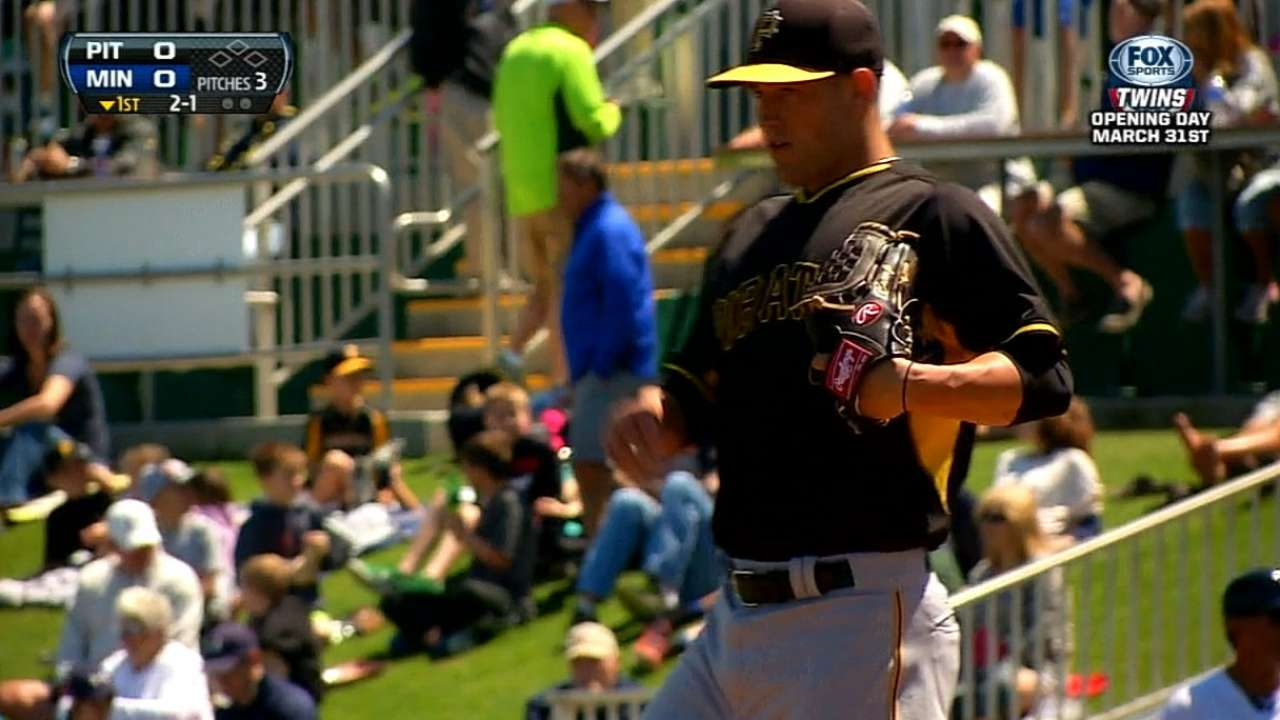 Bucs option Cumpton; Liriano likely OK for opener