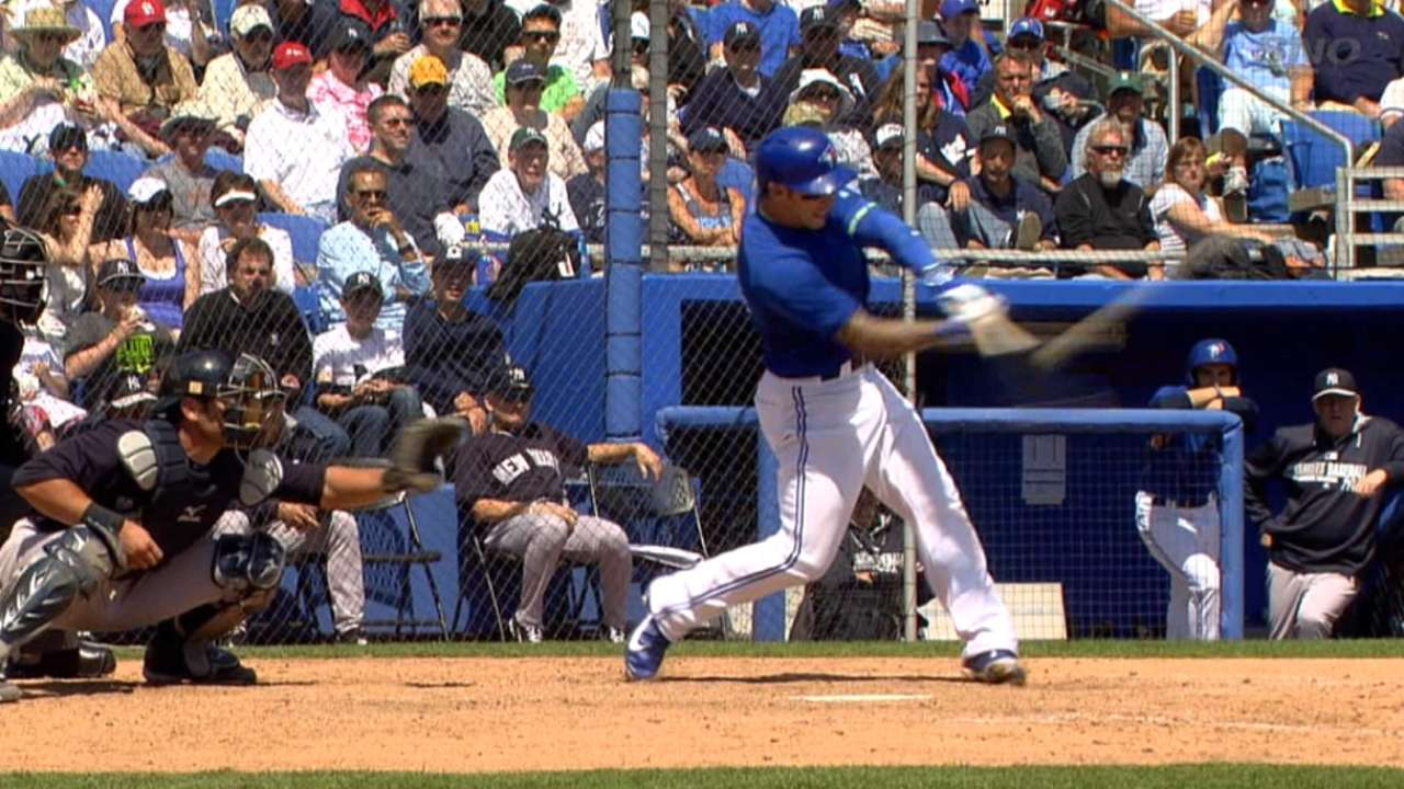 Lawrie, Melky in middle of Blue Jays' display