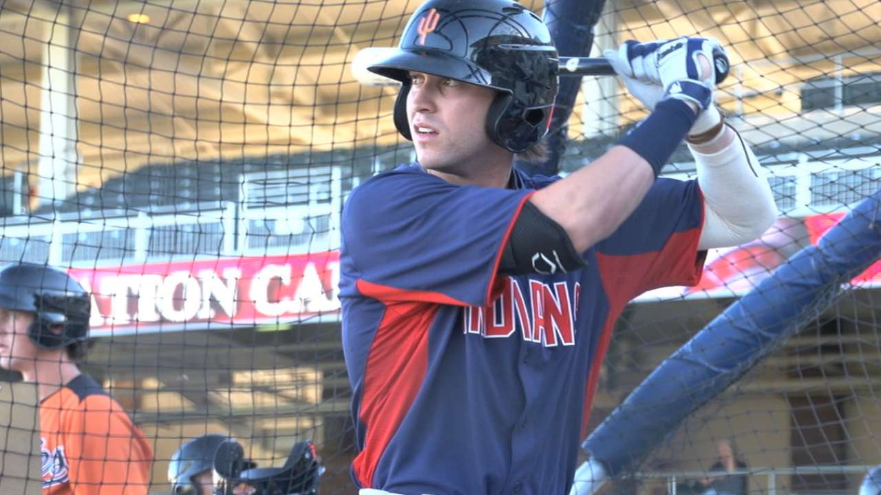 Double-A prospects Naquin, Wendle land on DL