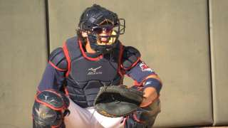 Indians sending catcher Wolters, four others to AFL