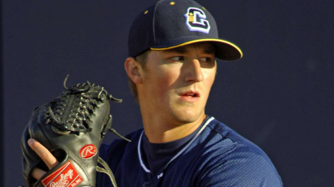 Indians prospect Baker returns from ankle injury