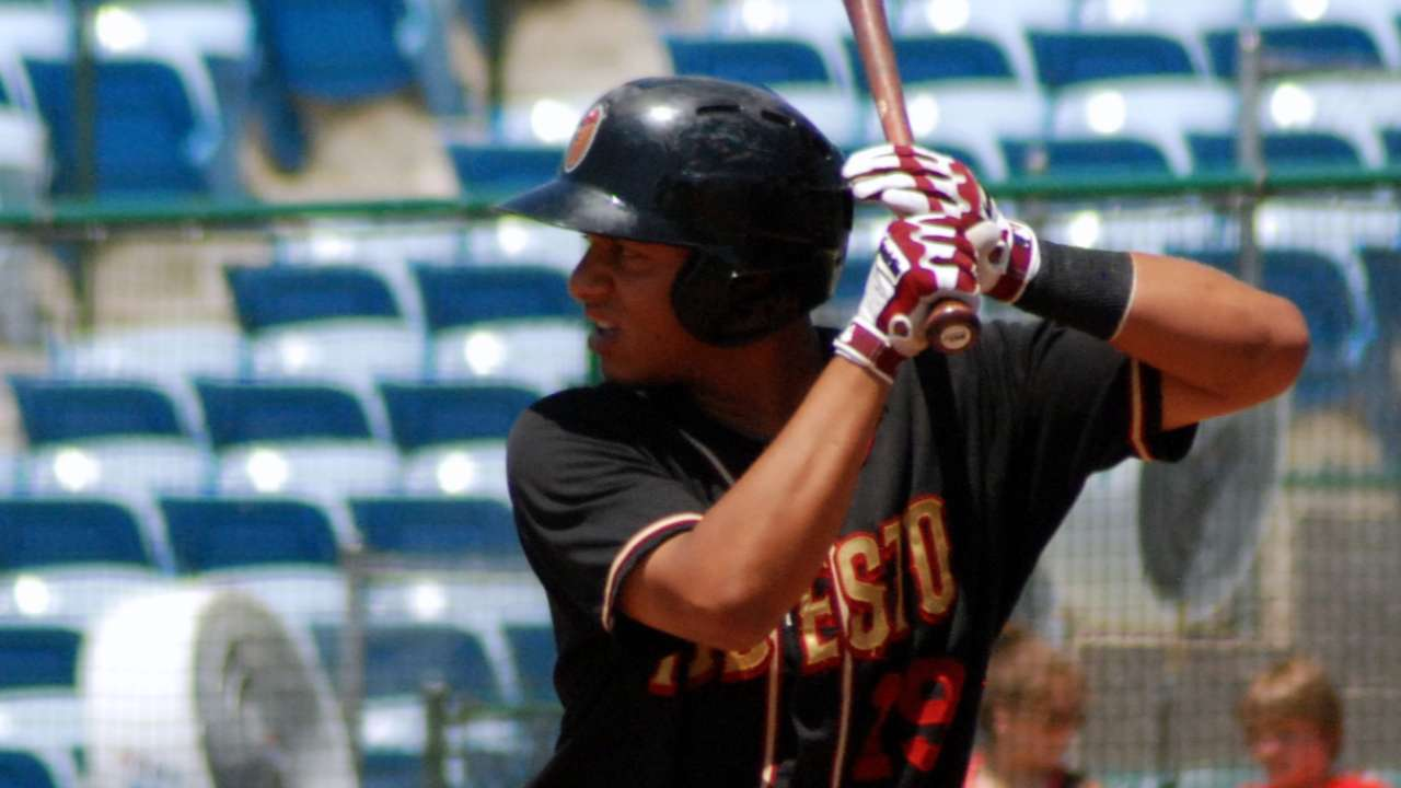 Adames called up from Colorado Springs