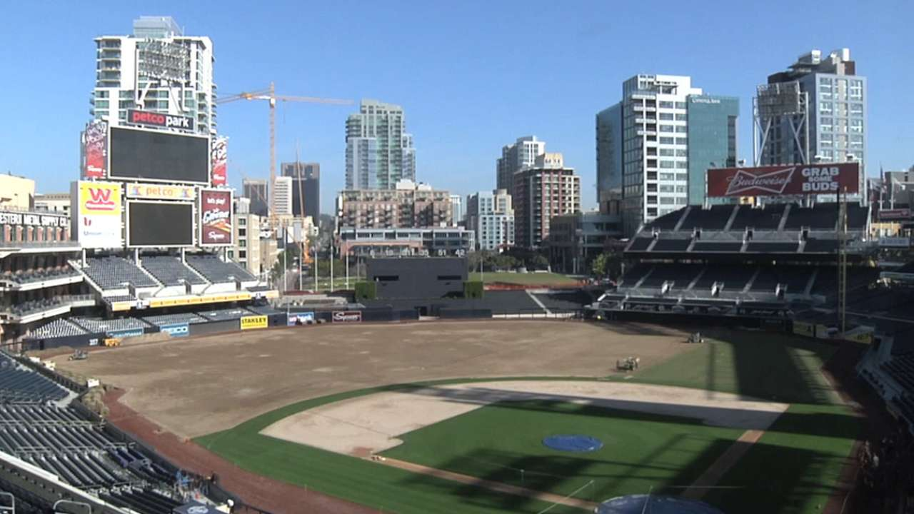 Fans to enjoy Petco Park's upgrades in 2014