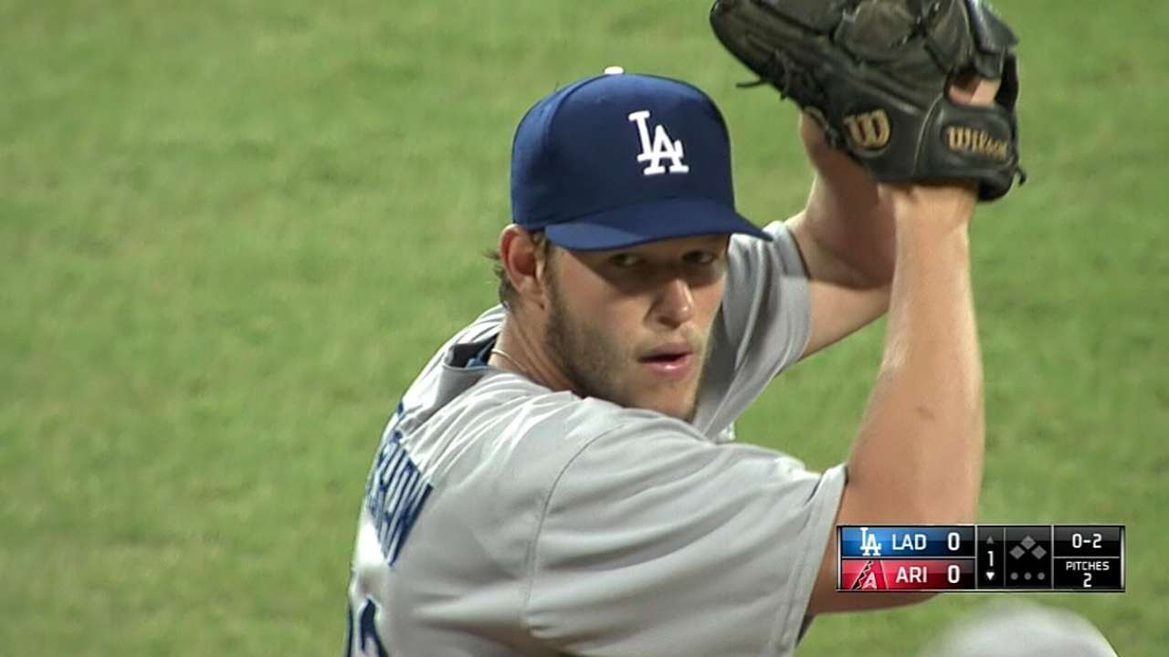 Kershaw scratched, eyes LA's home opener