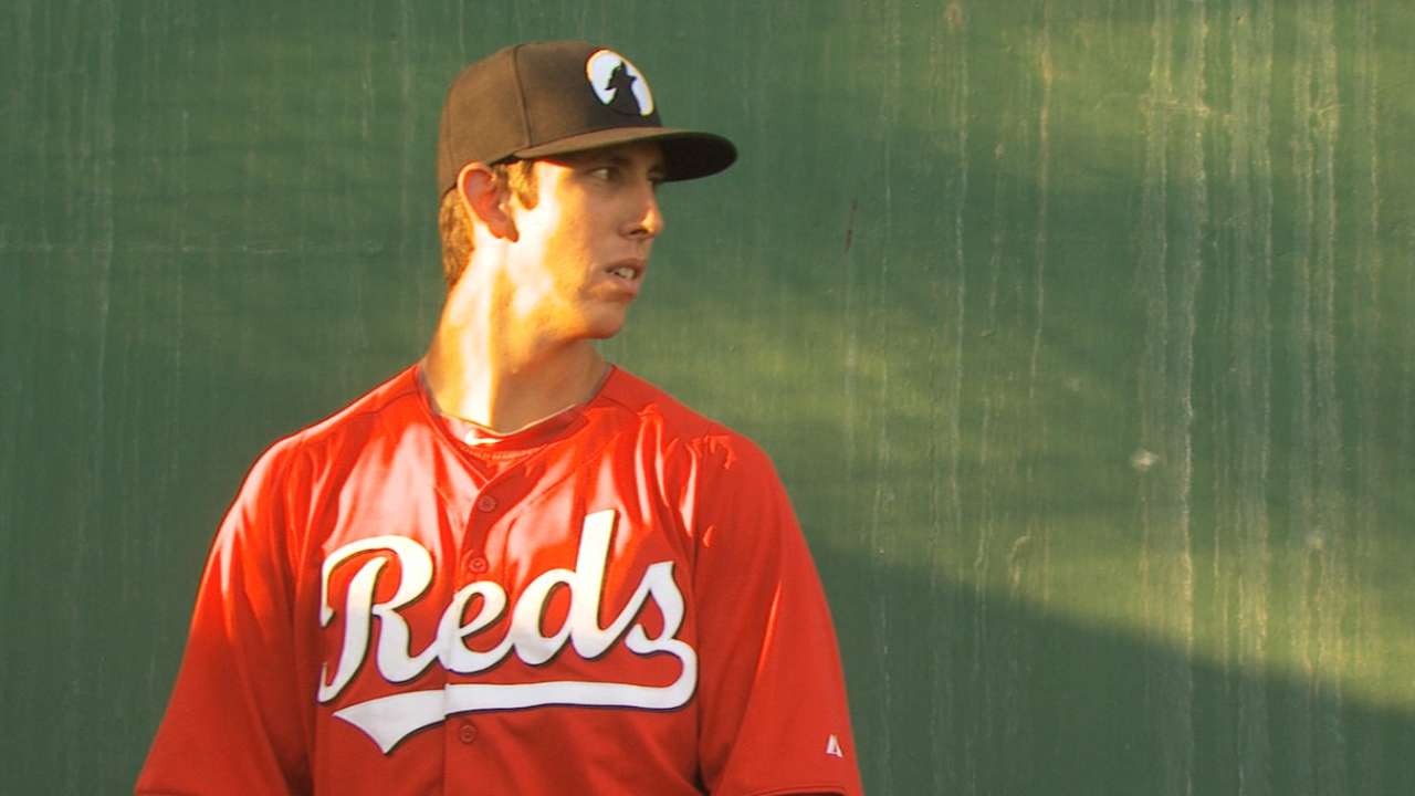 Lorenzen, Winker turning heads in Reds' Pipeline