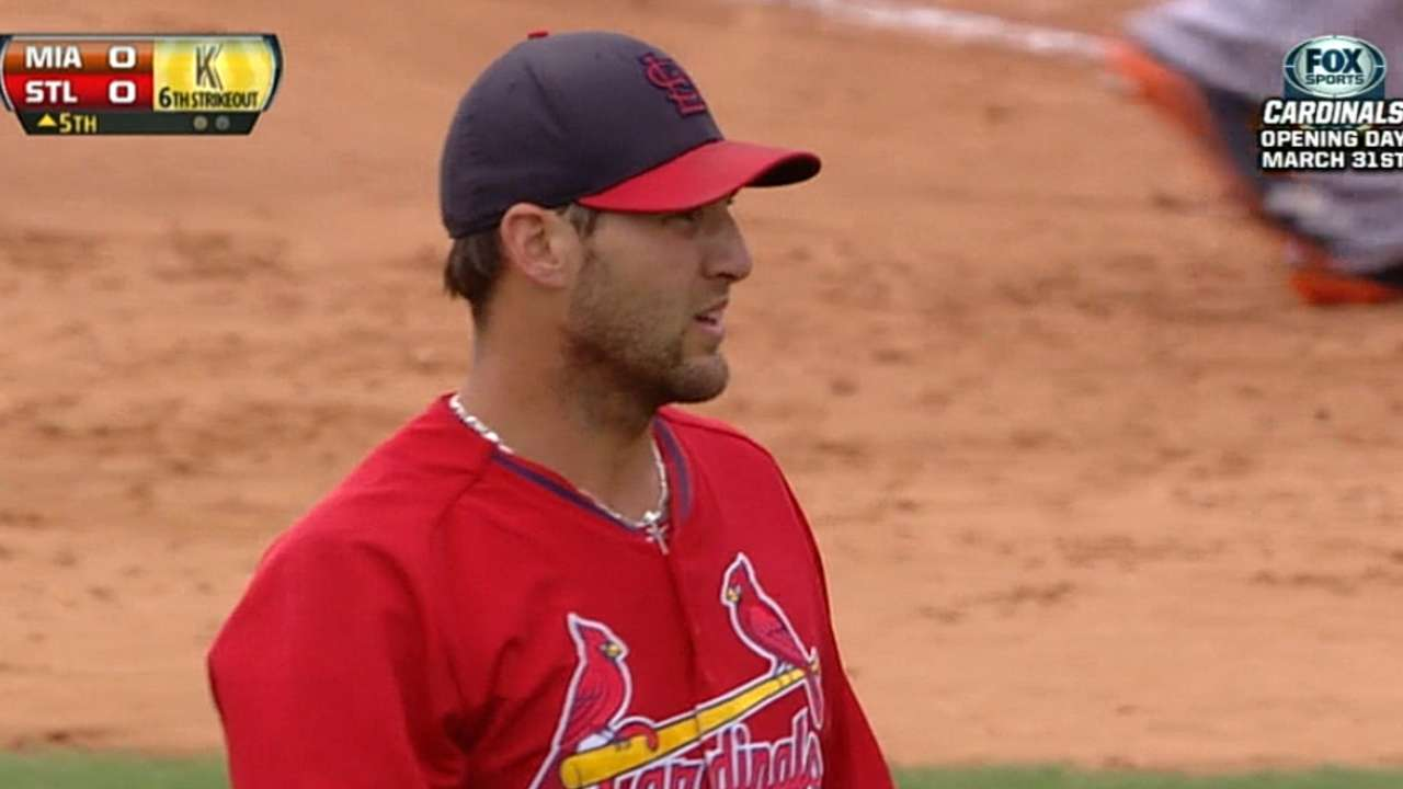 Wacha sharp in final tuneup against Marlins