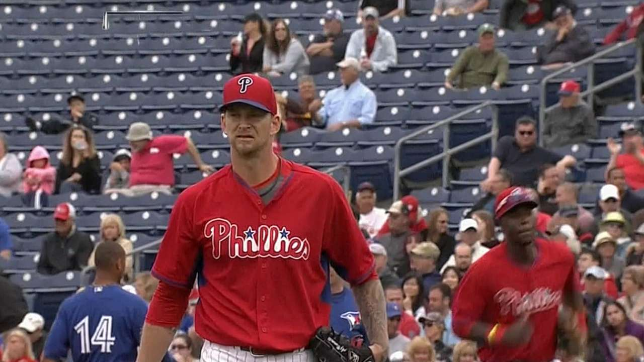 Burnett strikes out six in final spring tuneup