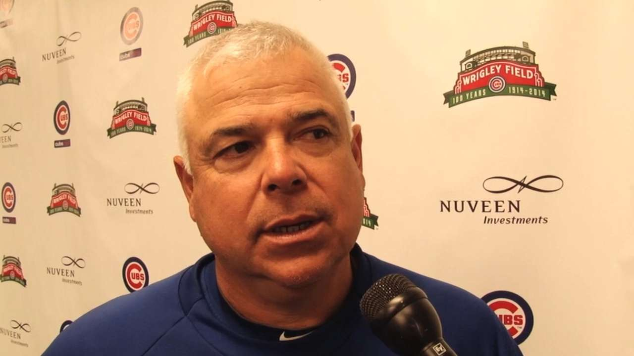 Renteria calm, wants Cubs to reach for the stars