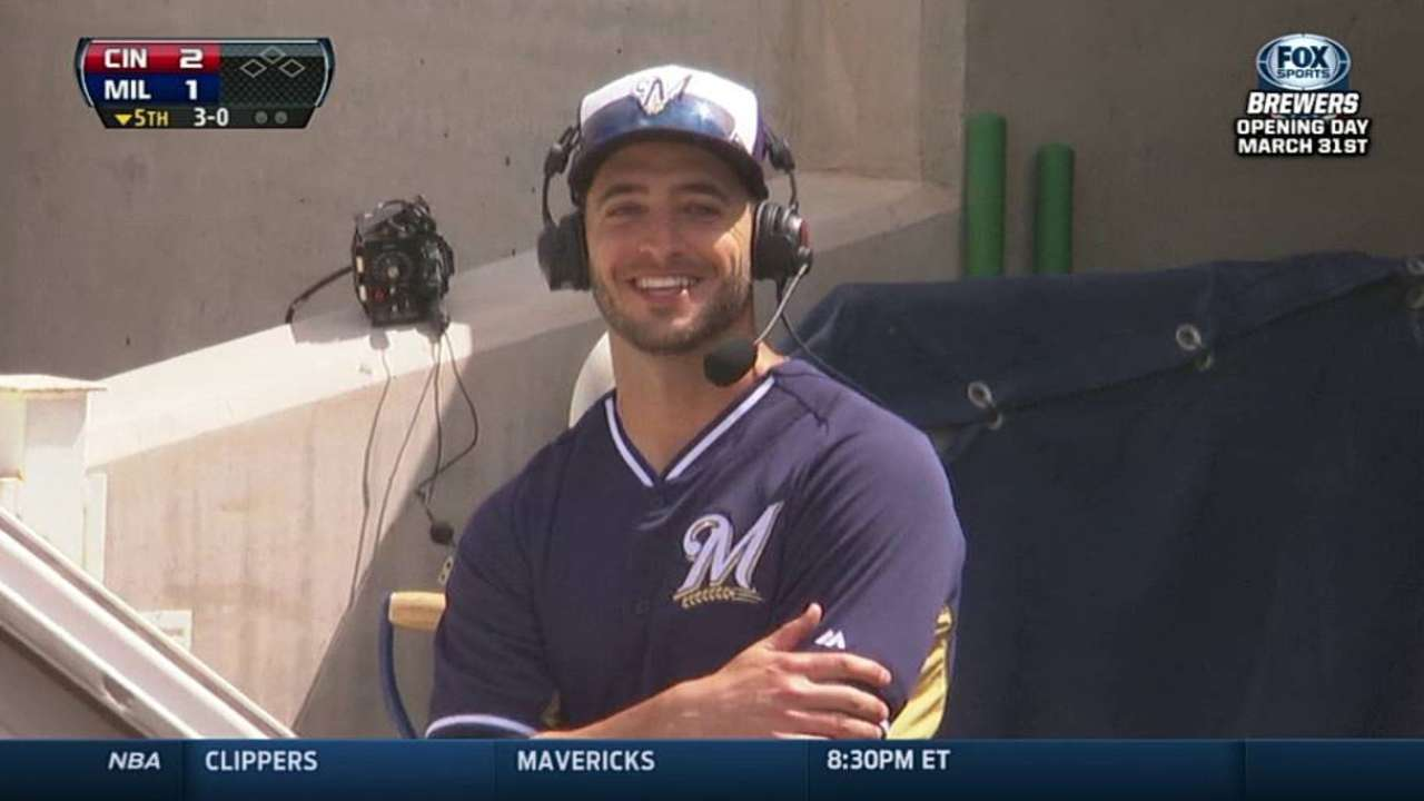 Brewers, Braun making trial run at Miller Park