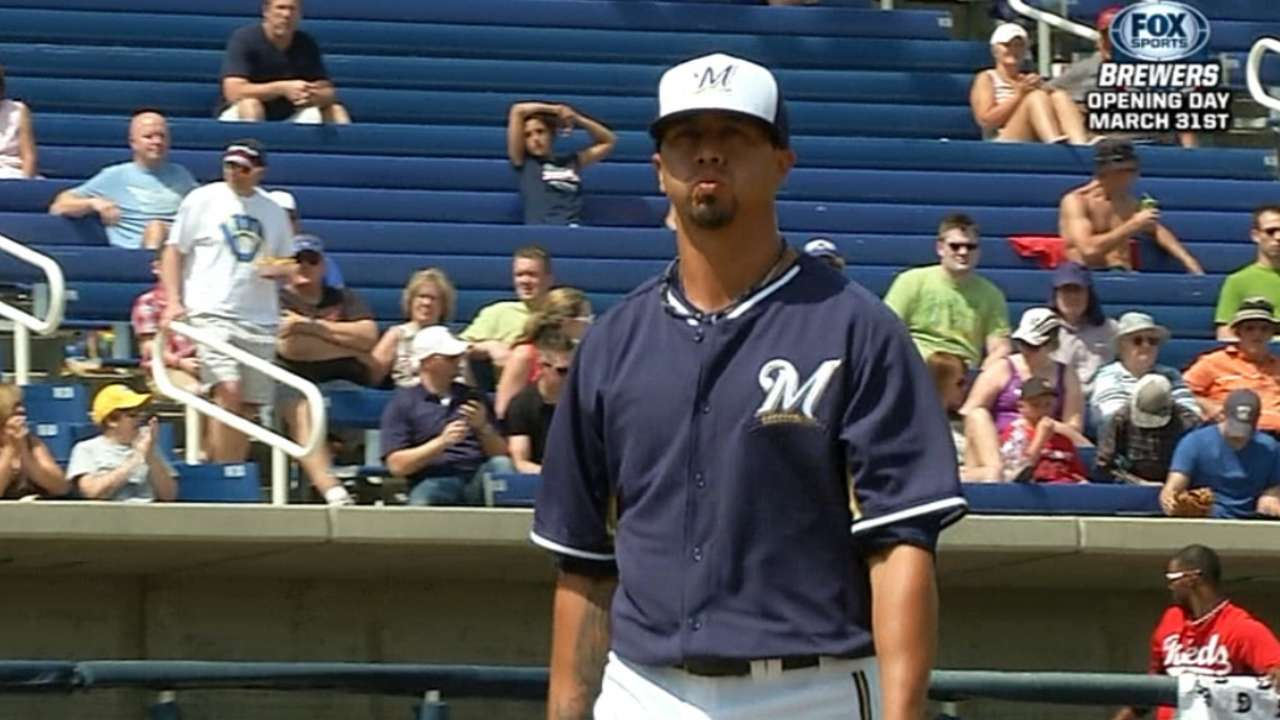 Lohse tunes up as Brewers take leave of Arizona