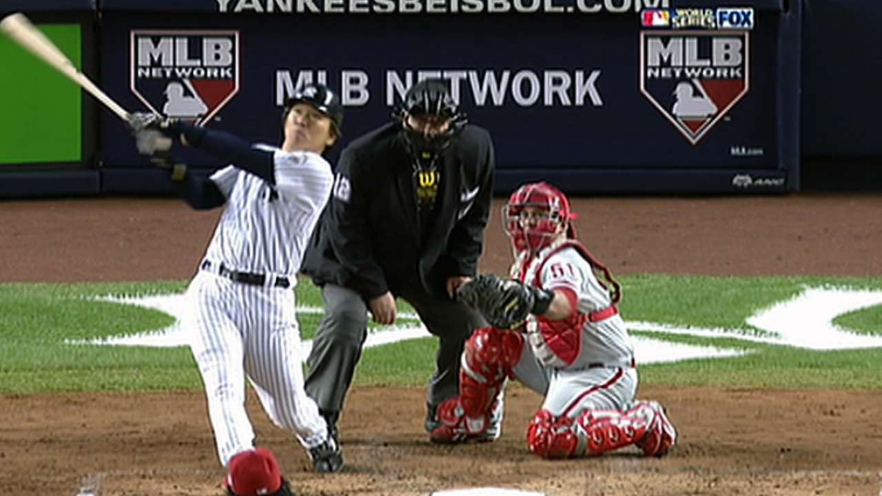 Matsui guest of honor at Yankees Homecoming