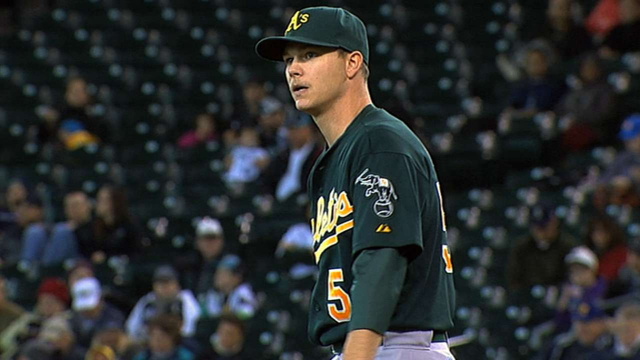 A's impressed by Gray's early spring performance