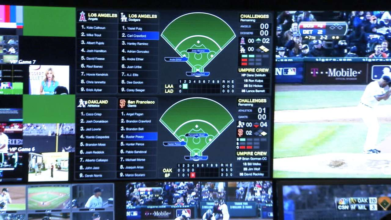 Baseball unveils state-of-the-art replay center