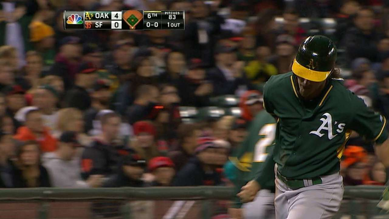 Reddick delivers thump in return to Bay Area