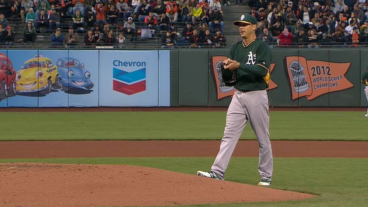 Kazmir silences Giants to close strong spring