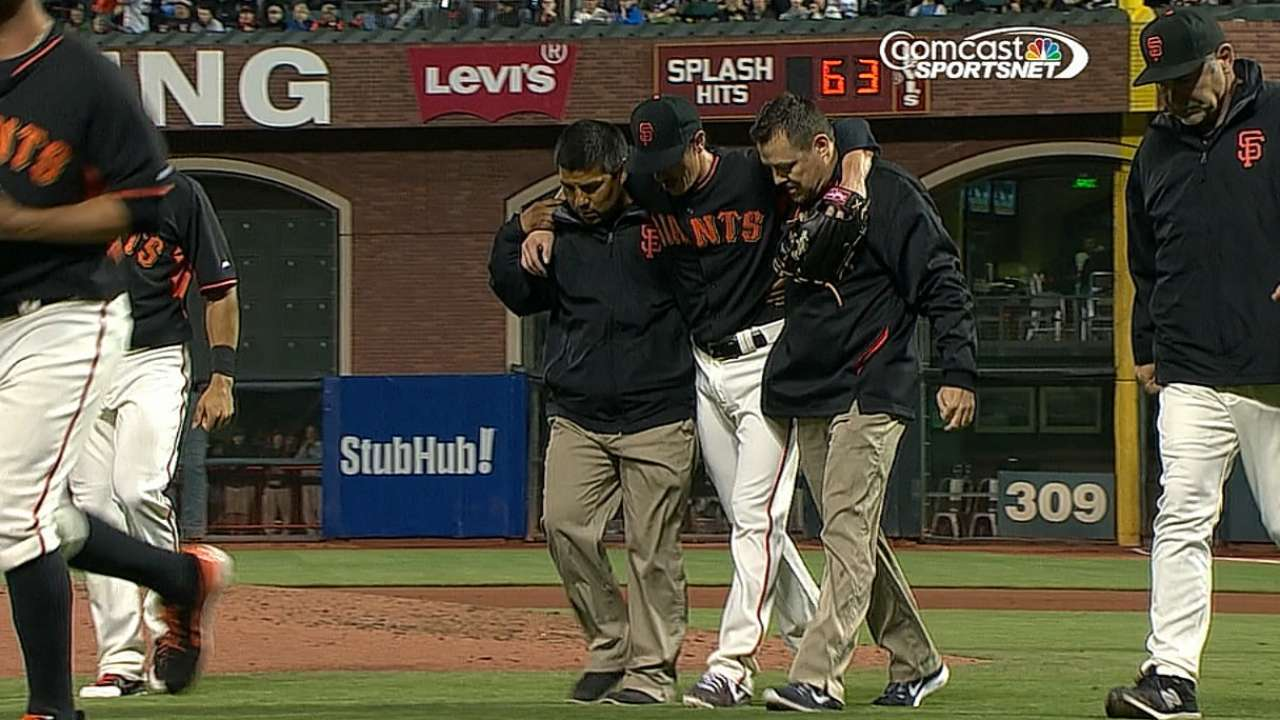 Giants eager to forget painful night for Lincecum