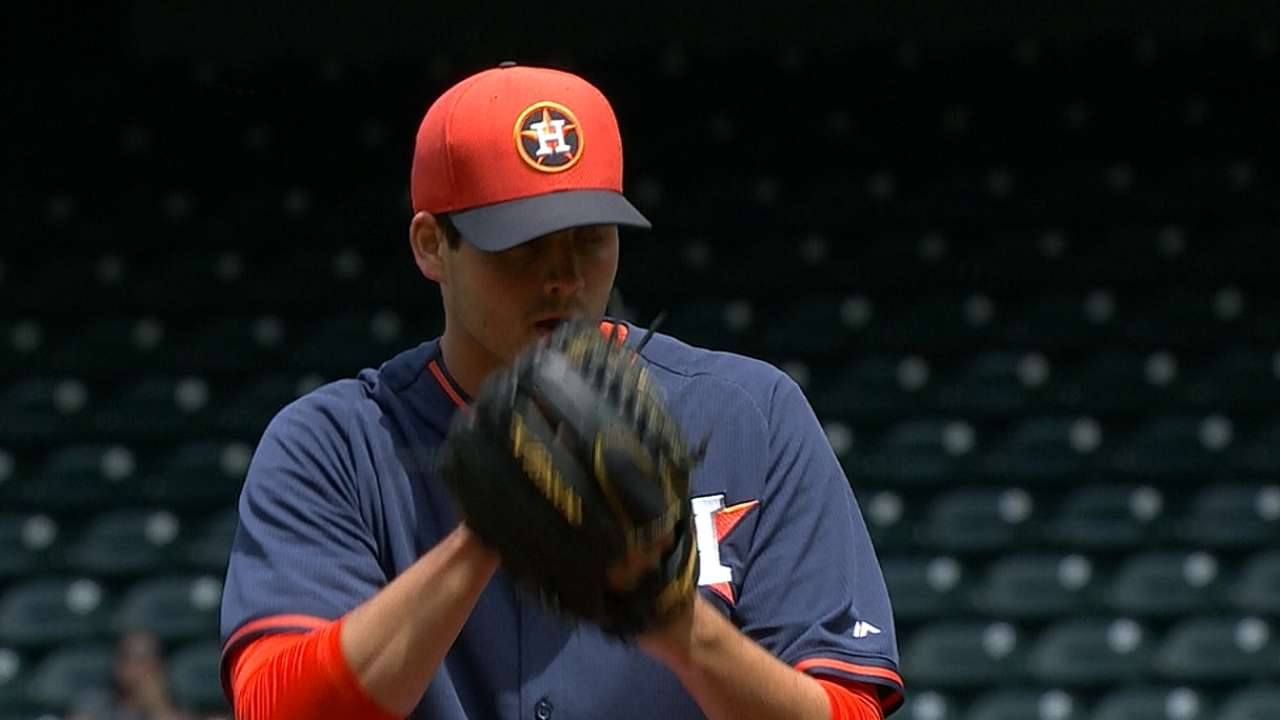 Top prospects shine as Astros close spring