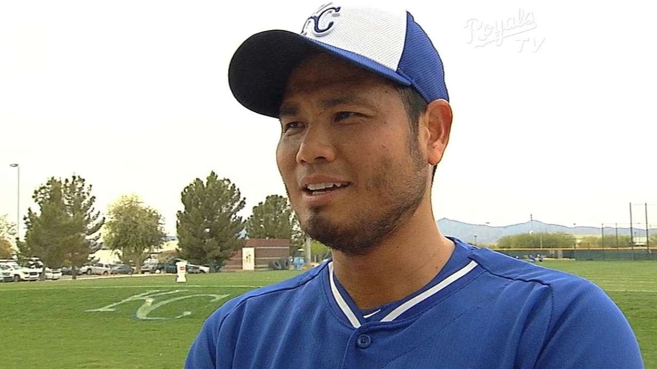 Chen won't forget first Opening Day start