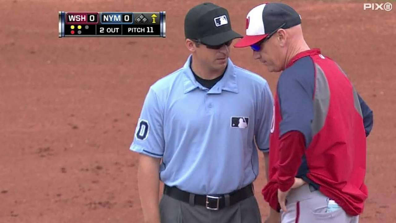 Nationals get call overturned, then score a run