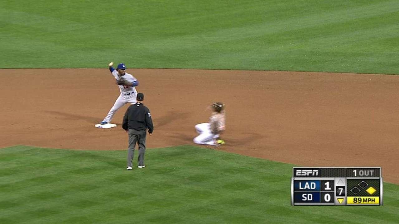 Dodgers no pudieron mantener la ventaja en S.D.