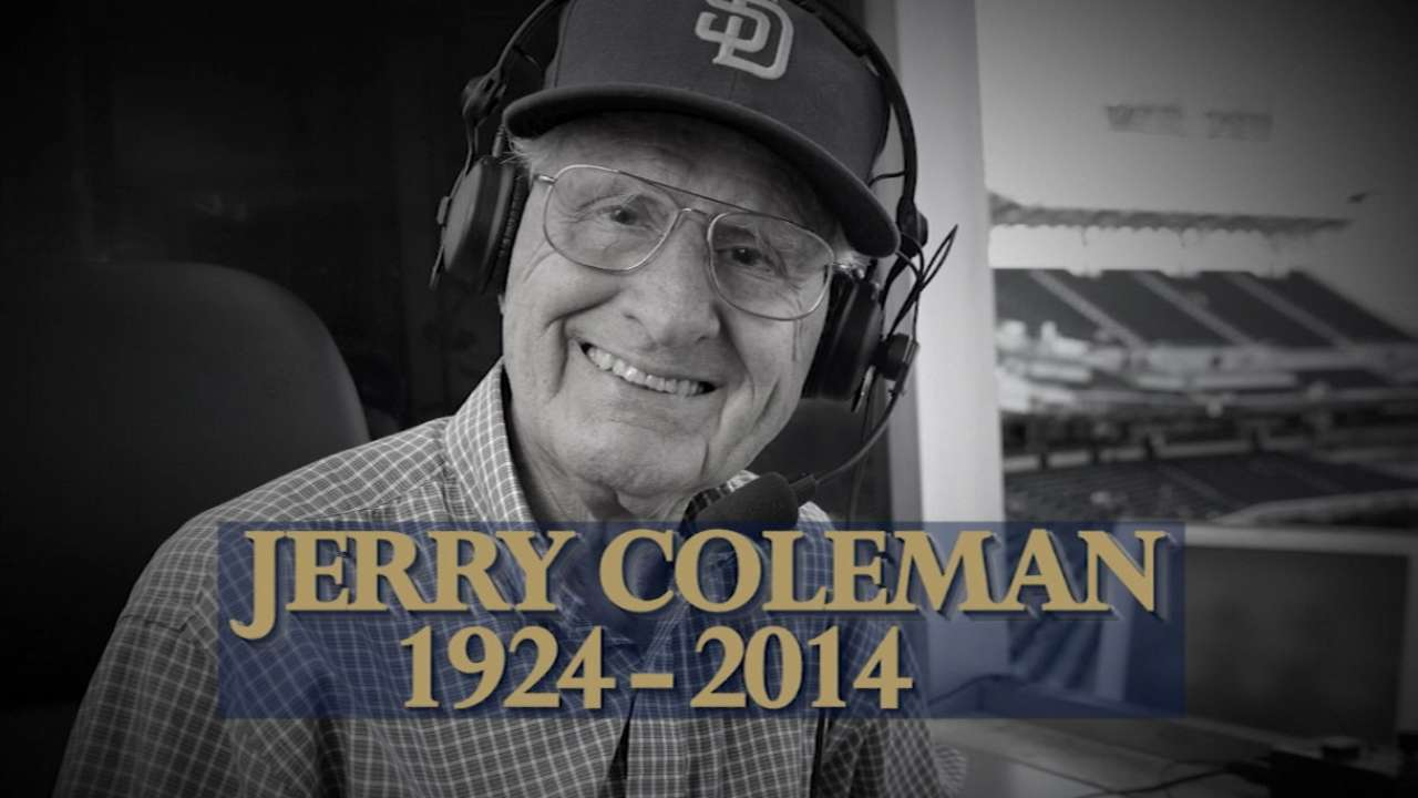 Broadcasters on Coleman's legacy