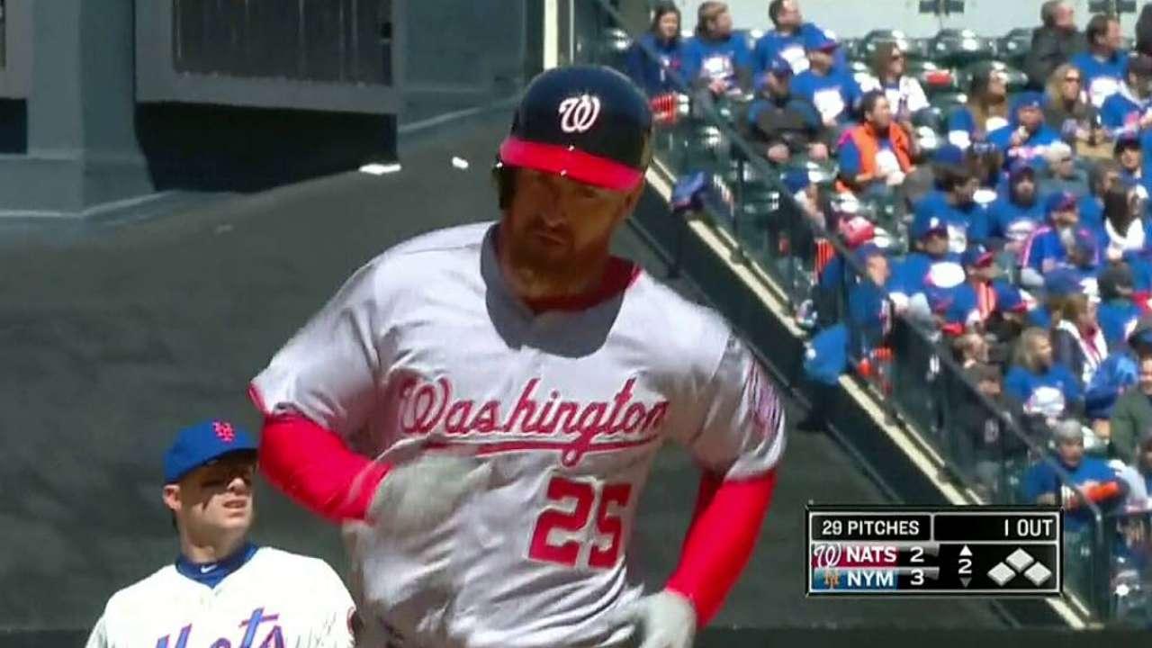 Hang-tough Nats top Mets in 10 innings