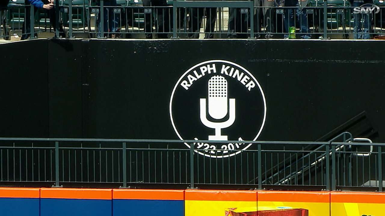 Mets pay tribute to Kiner at Citi Field