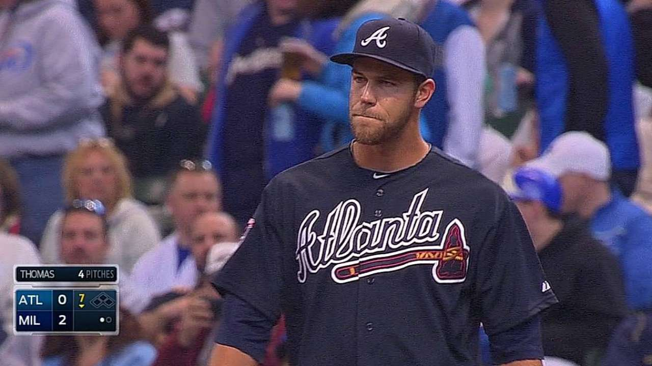 Opening Day first day in bigs for Braves trio