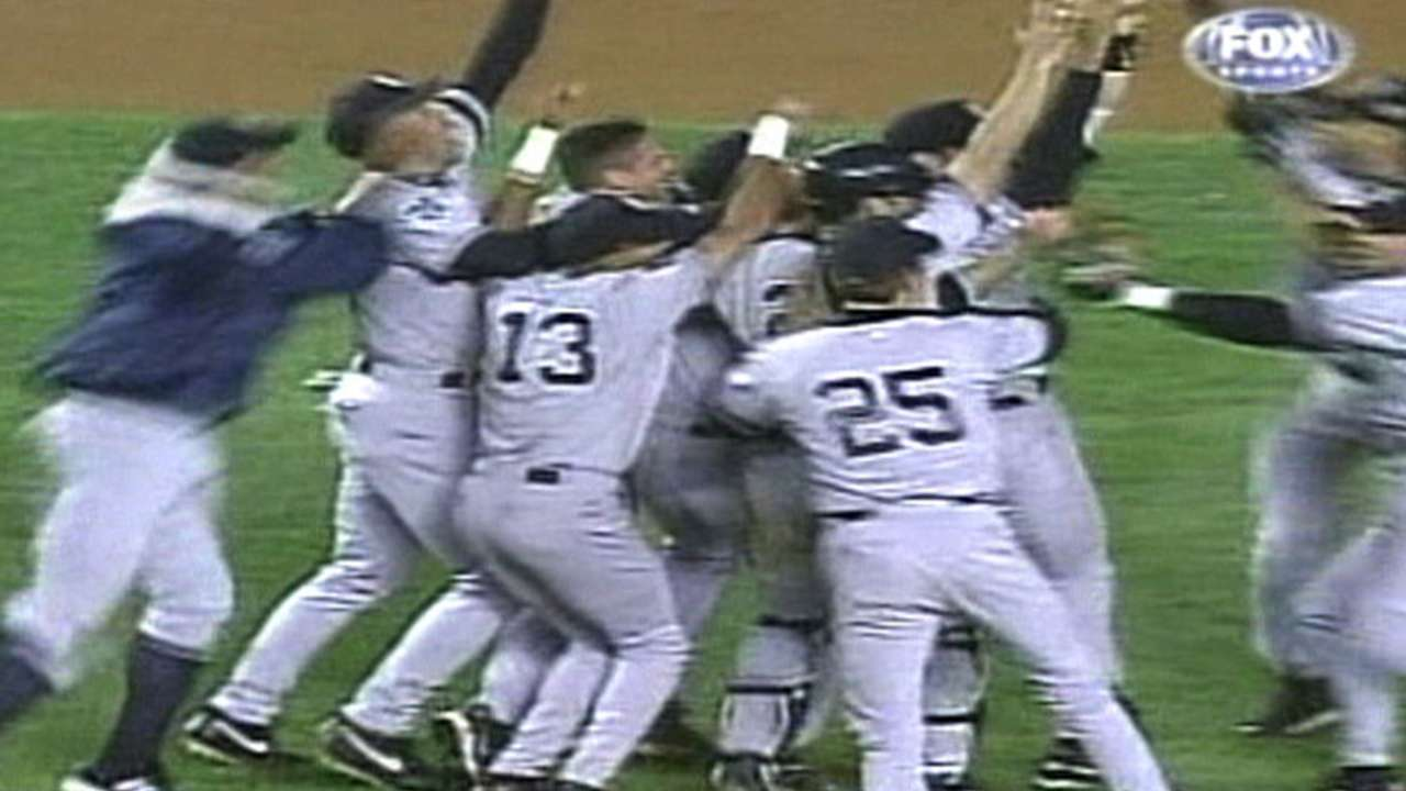 Yanks win the 2000 World Series