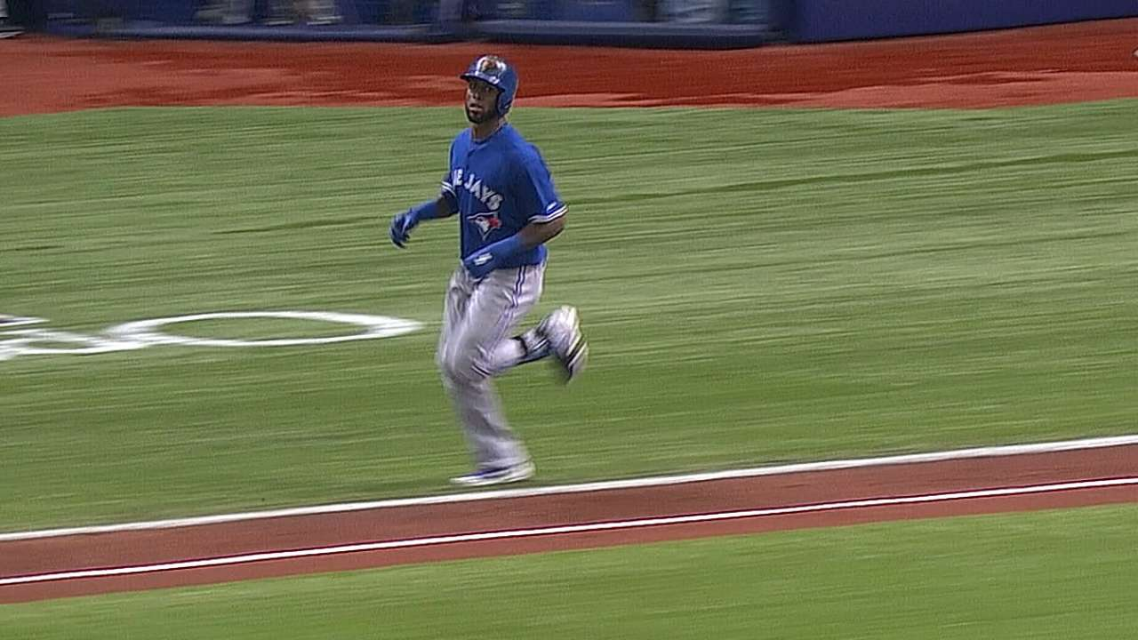Blue Jays expect Reyes back Friday in Cleveland