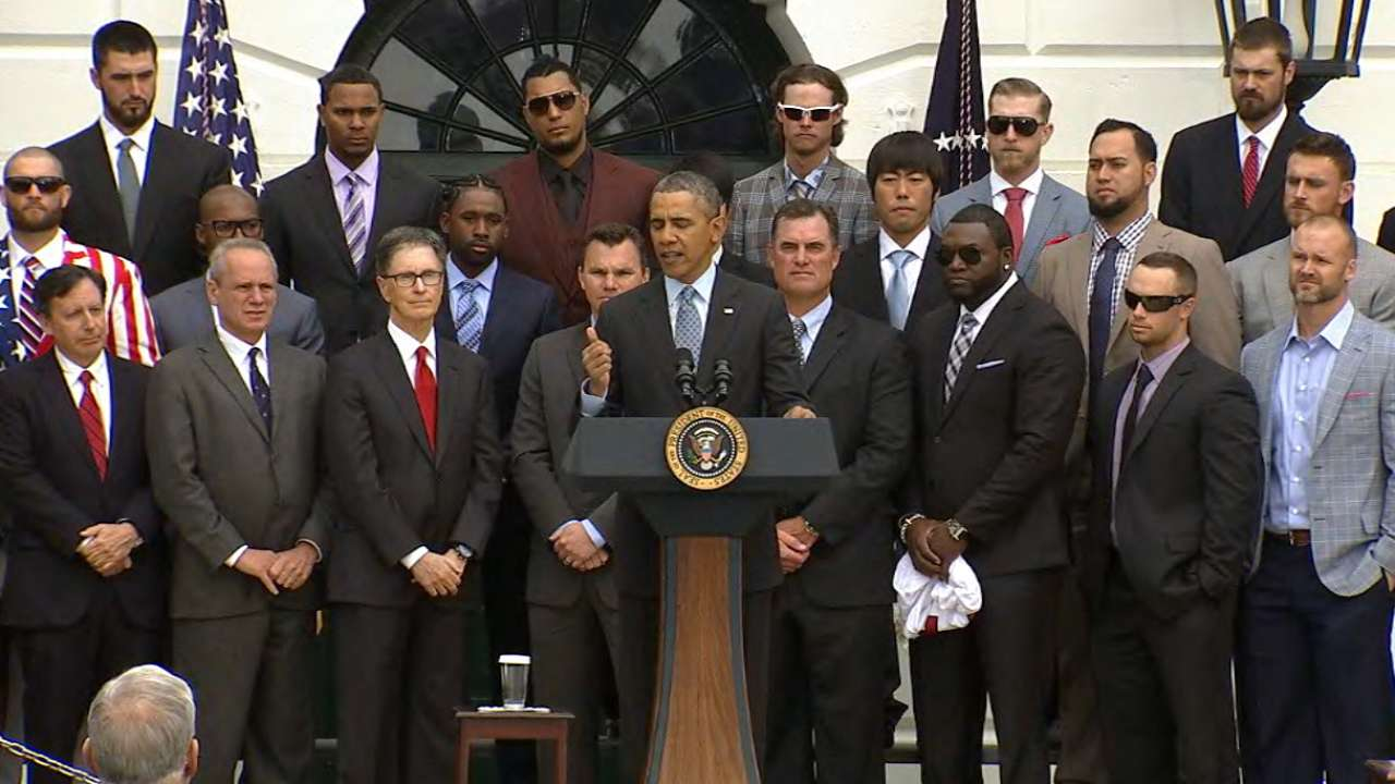 Text of President Obama's address during Sox visit