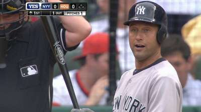 Reunion with Pettitte, Clemens on tap for Jeter