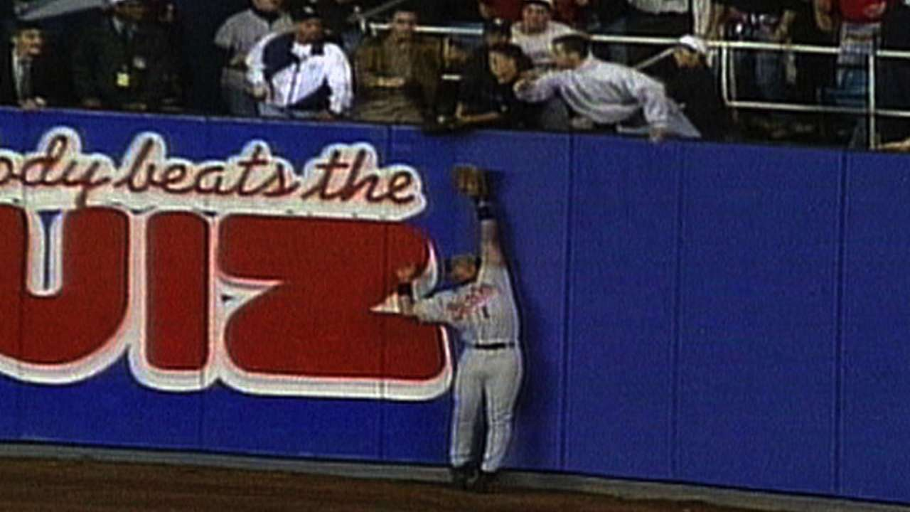 Maier glove from 1996 ALCS to be auctioned
