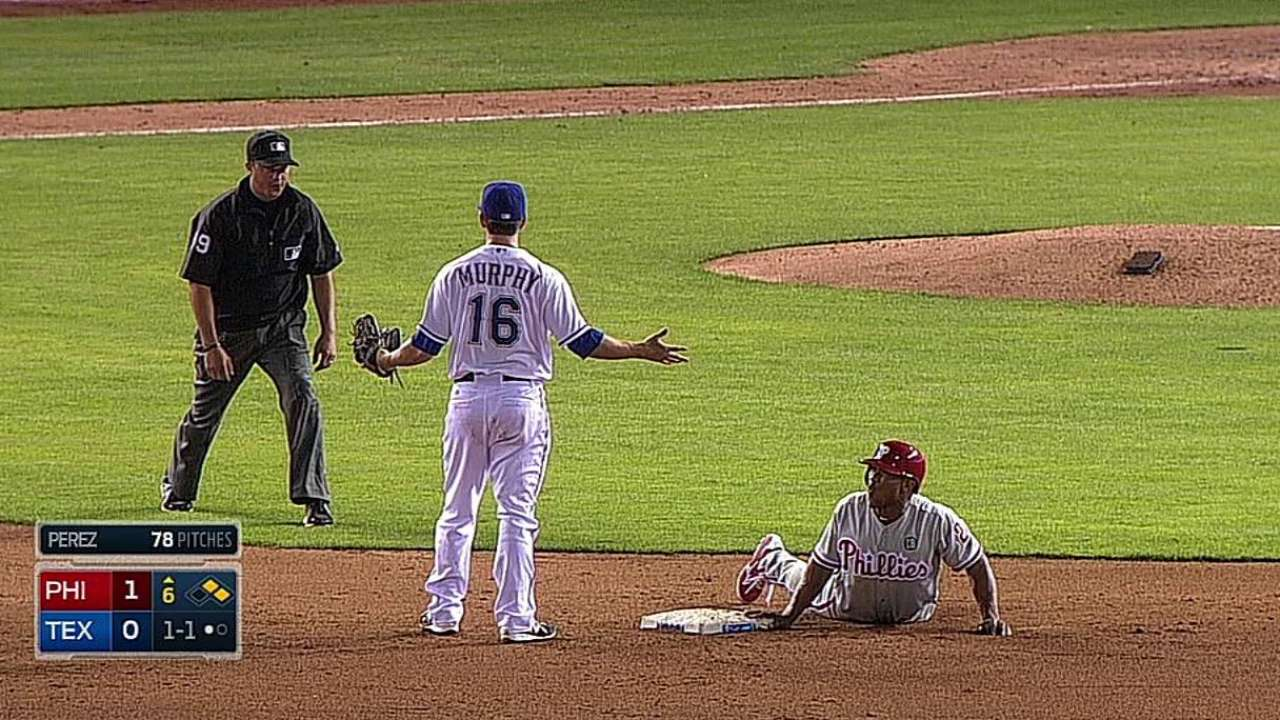 Rangers get call overturned with replay challenge