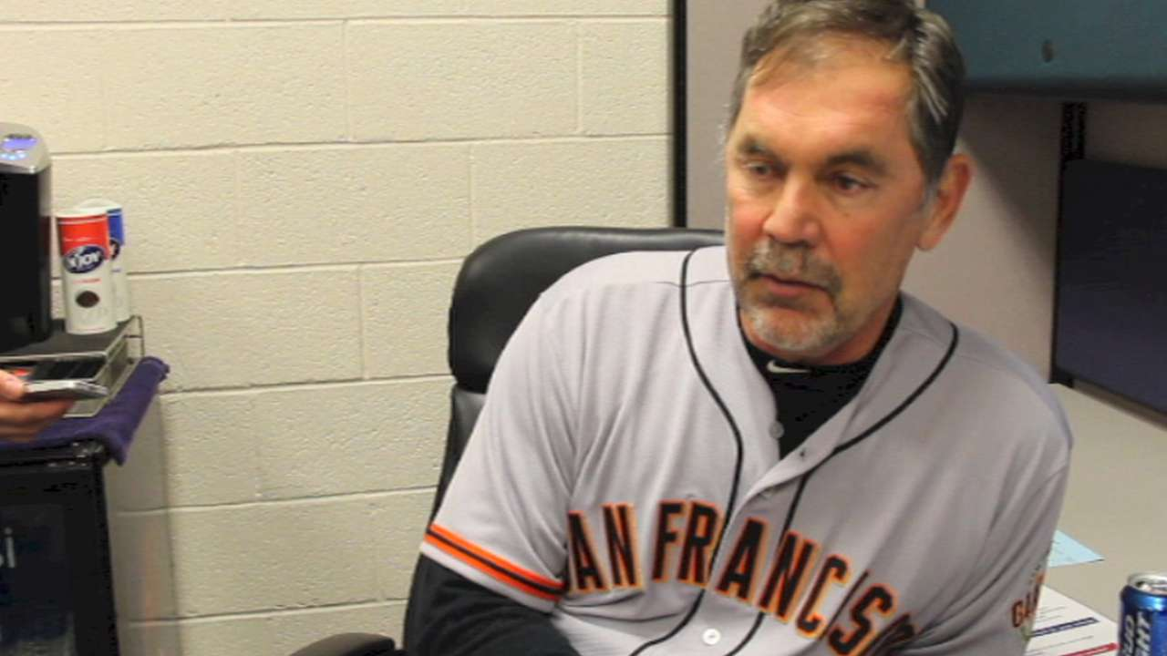 Bochy loses challenge, then key opportunity