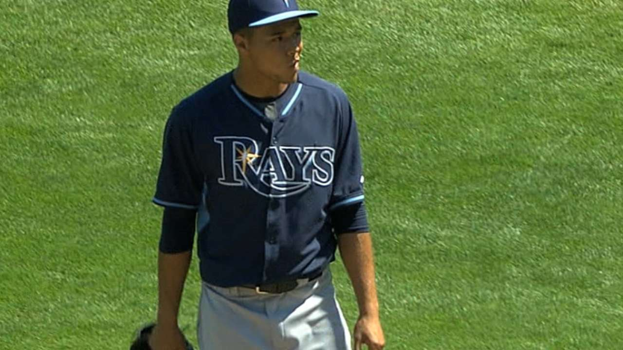 Rays continue trend of signing young core players