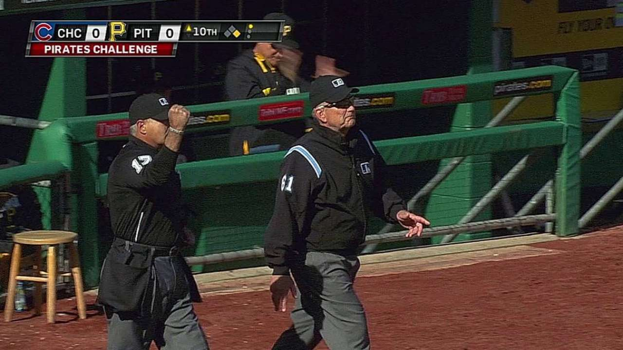 Overturned call benefits Pirates in 10th