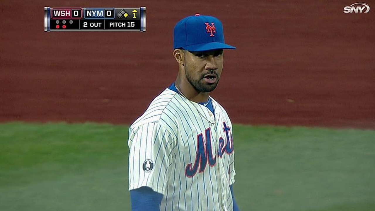 C. Young's Mets debut lasts one inning